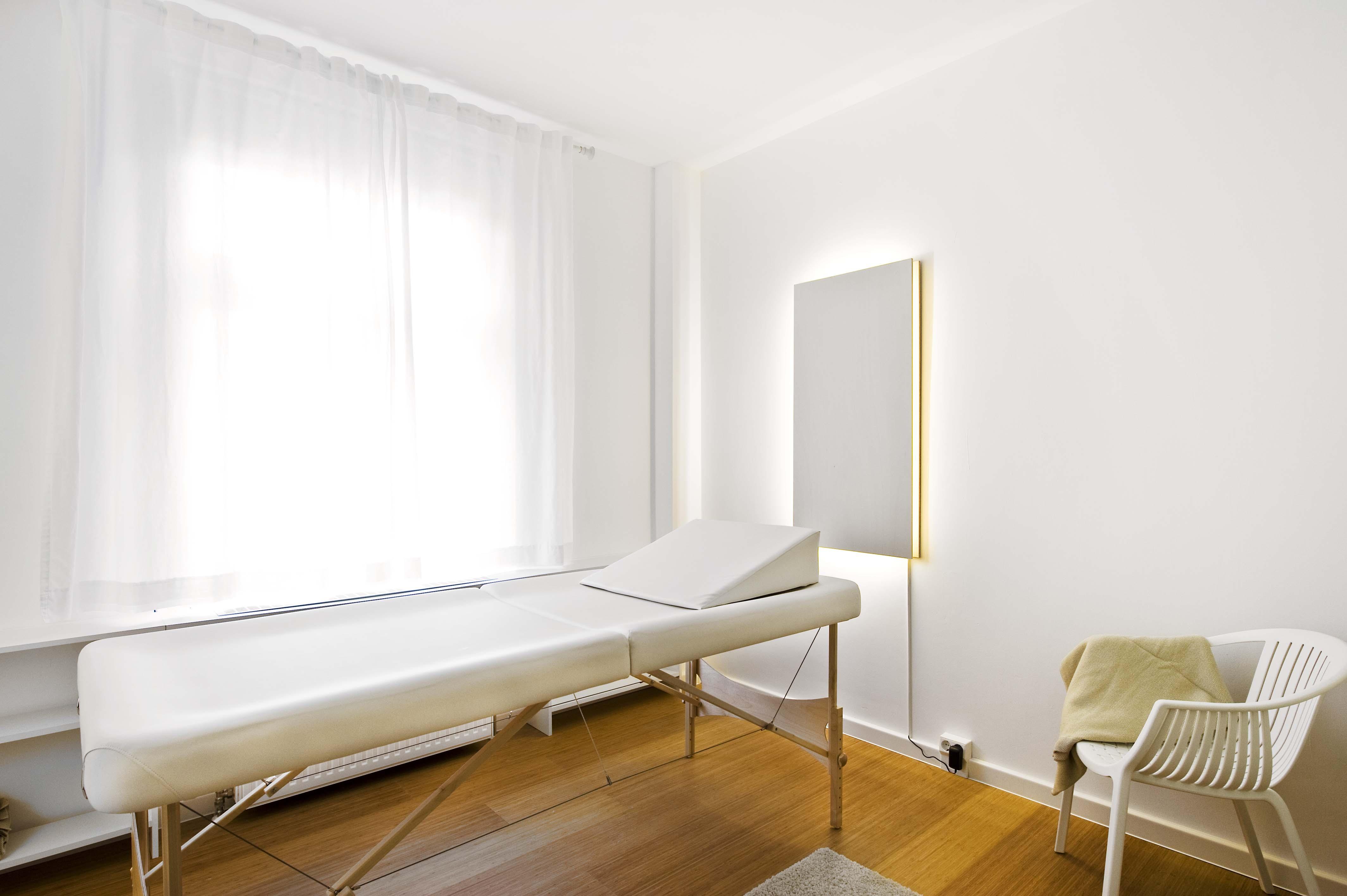 Körperklang Ayurveda-Behandlungsraum