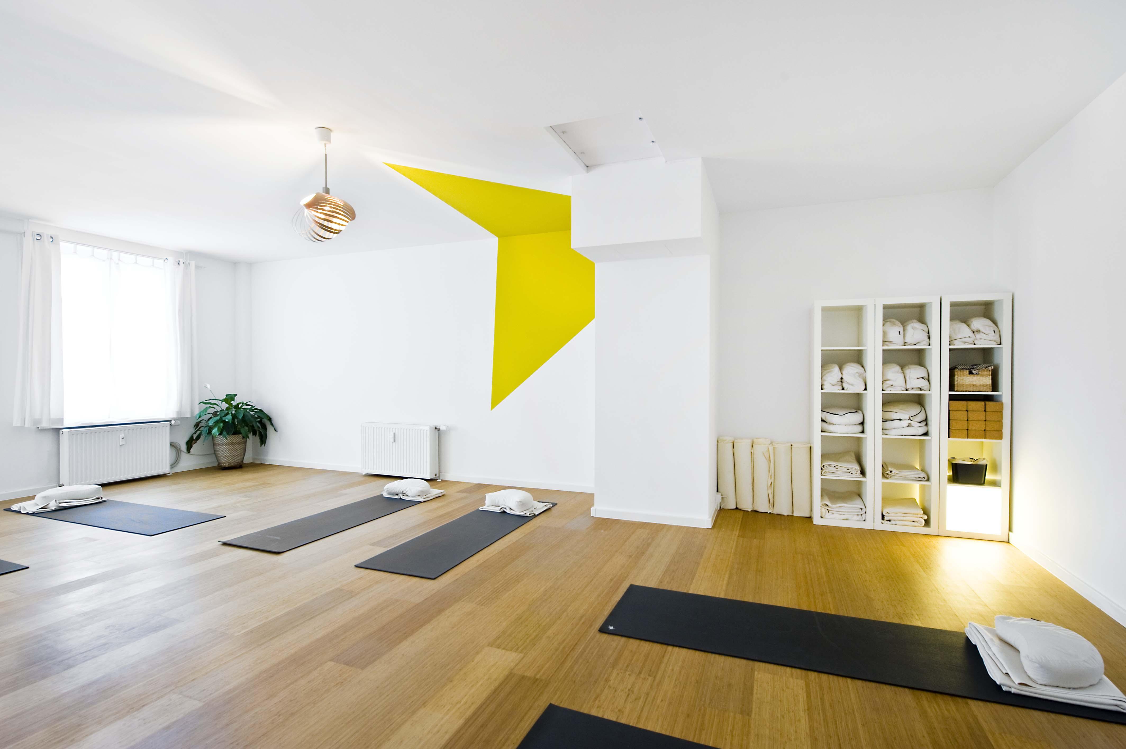 Körperklang kleiner Yogaraum