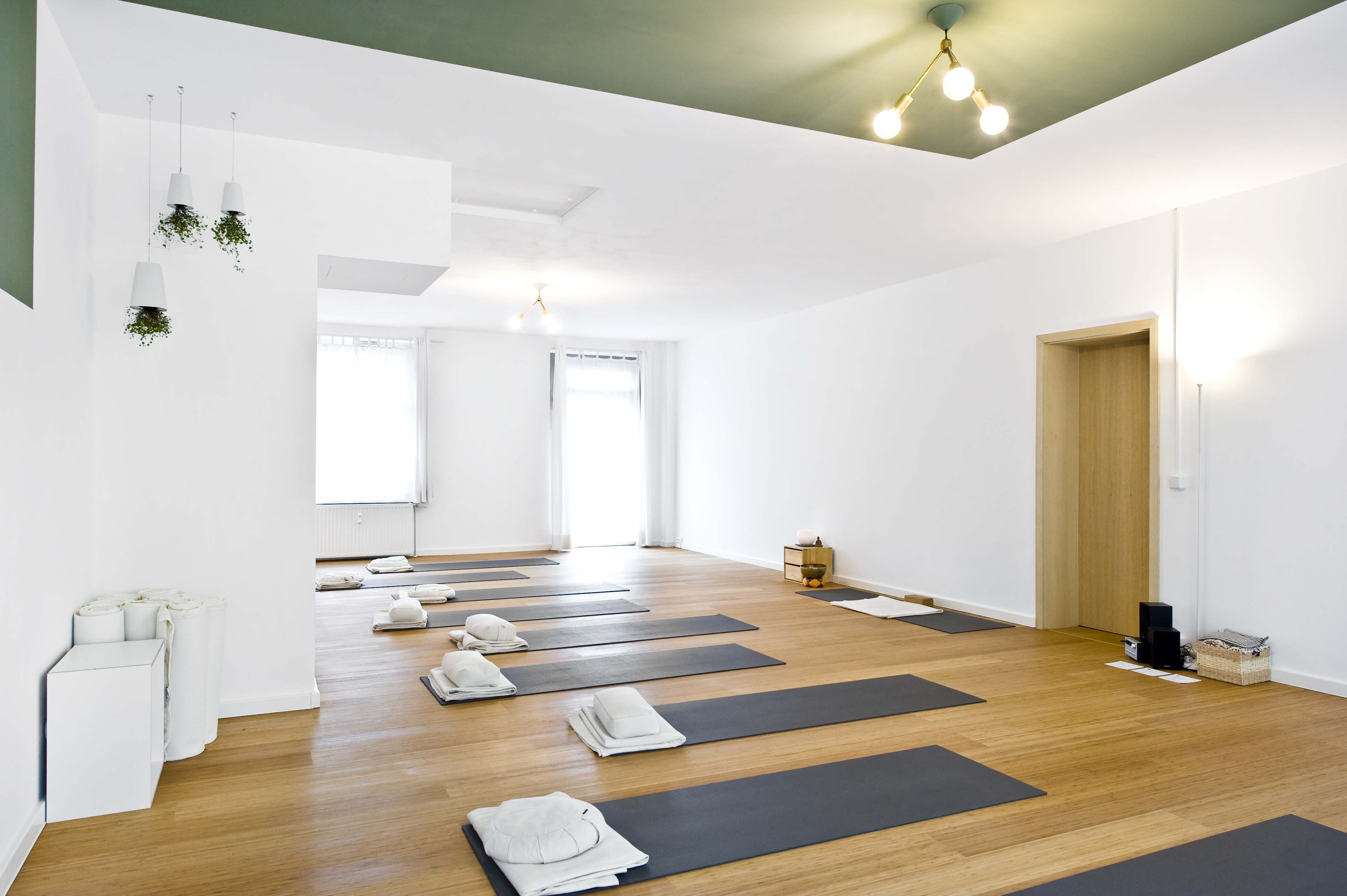 Grosser Yogaraum